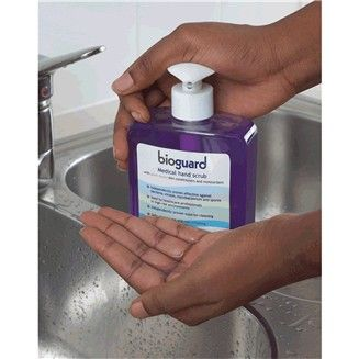 Bioguard Medical Hand Scrub Disinfectant Hand Scrub Antiseptic
