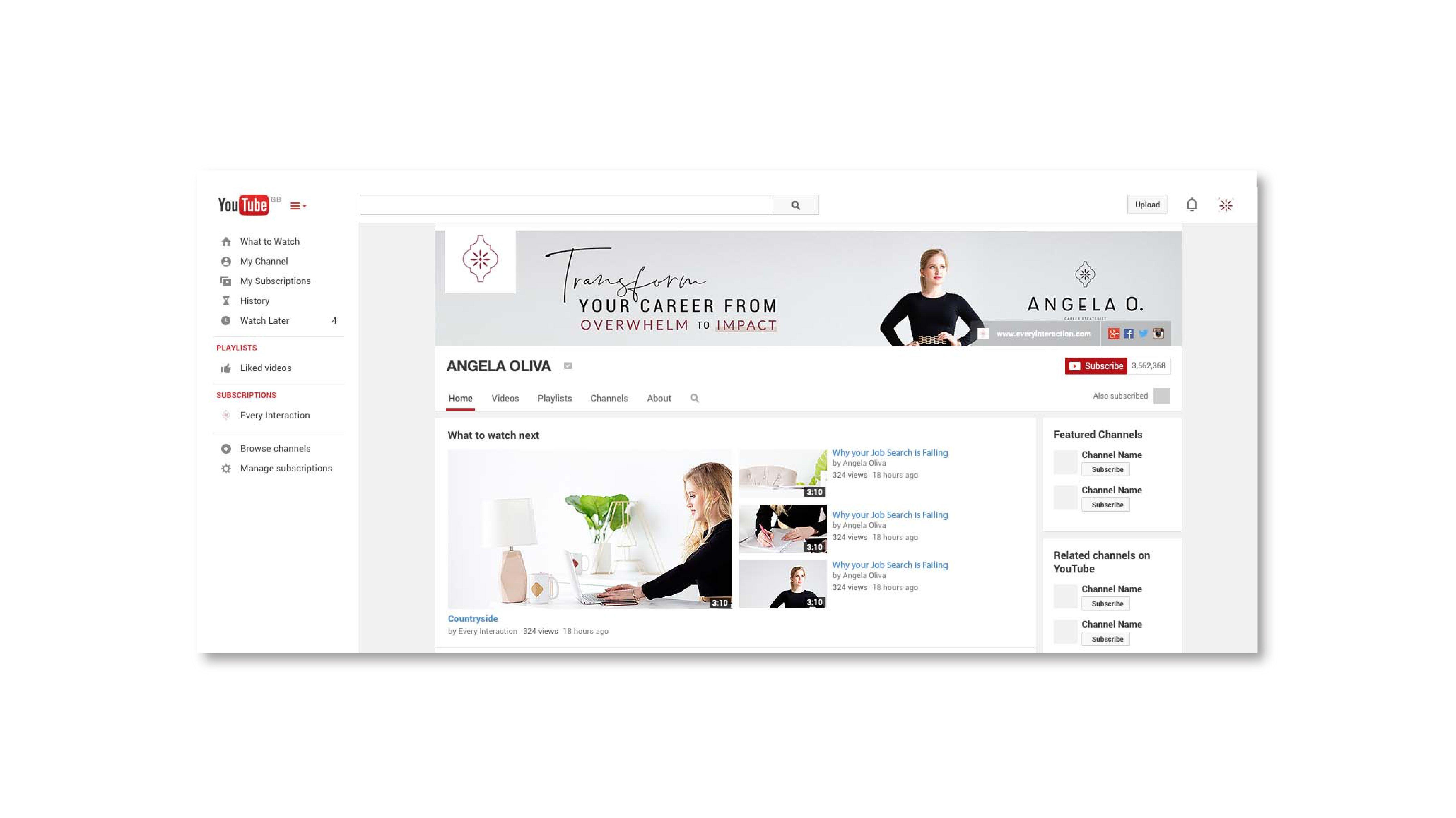 Brand And Website Design For Health And Wellness Businesses Logo Design Website Design Nutritionist With Images Youtube Design Custom Brand Design Health Coach Branding