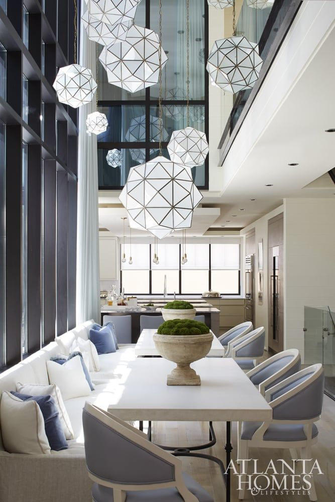 Mix and chic inside  light filled modern new orleans townhouse with classic also book review the gardens of bunny mellon dining room rh pinterest