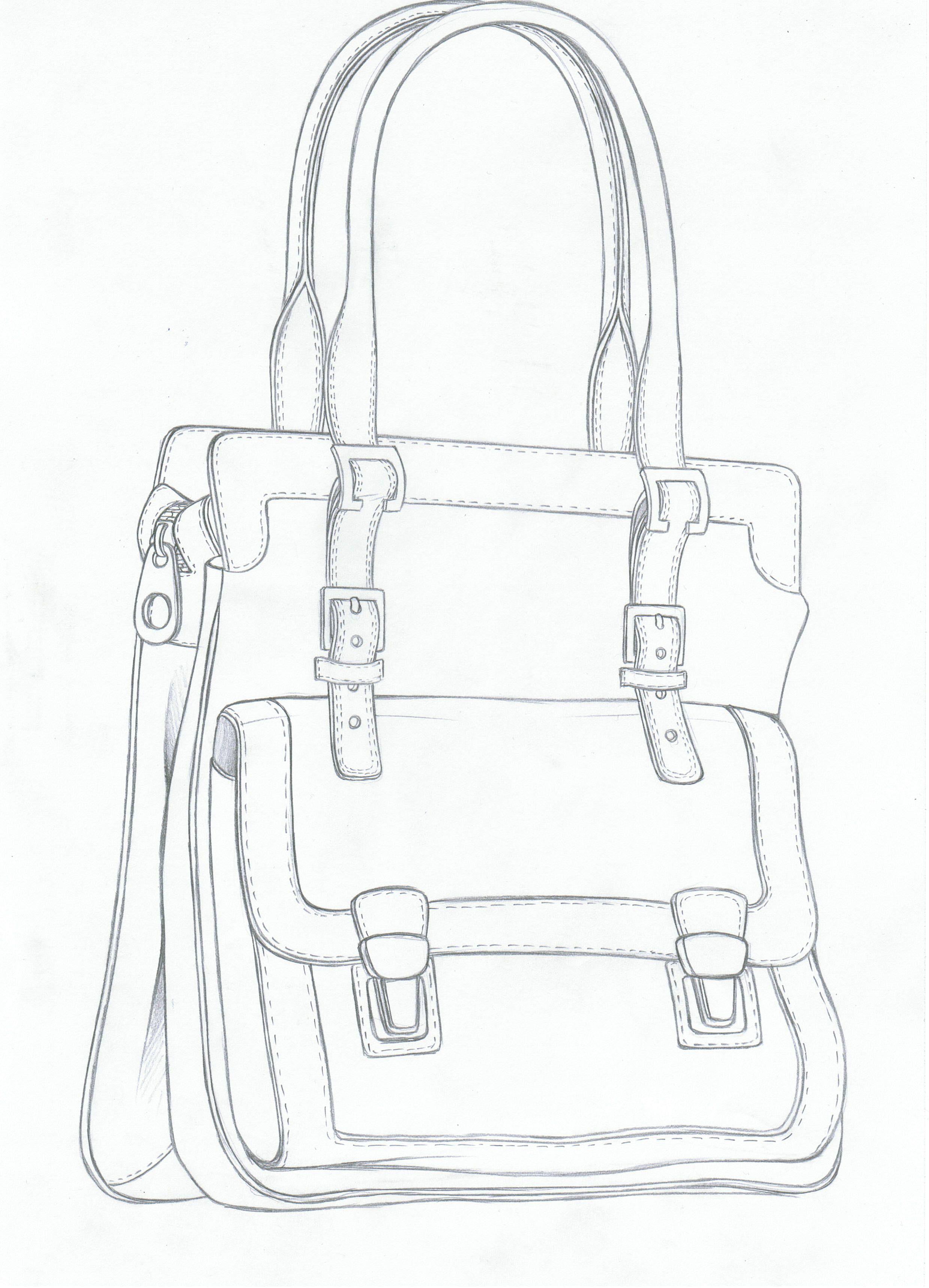Tote bag template illustrator - Bag