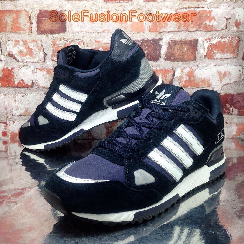 buy popular f4a50 14275 adidas Originals Mens ZX 750 Trainers Blue size 9.5 Running Sneakers EU 44  US 10   eBay