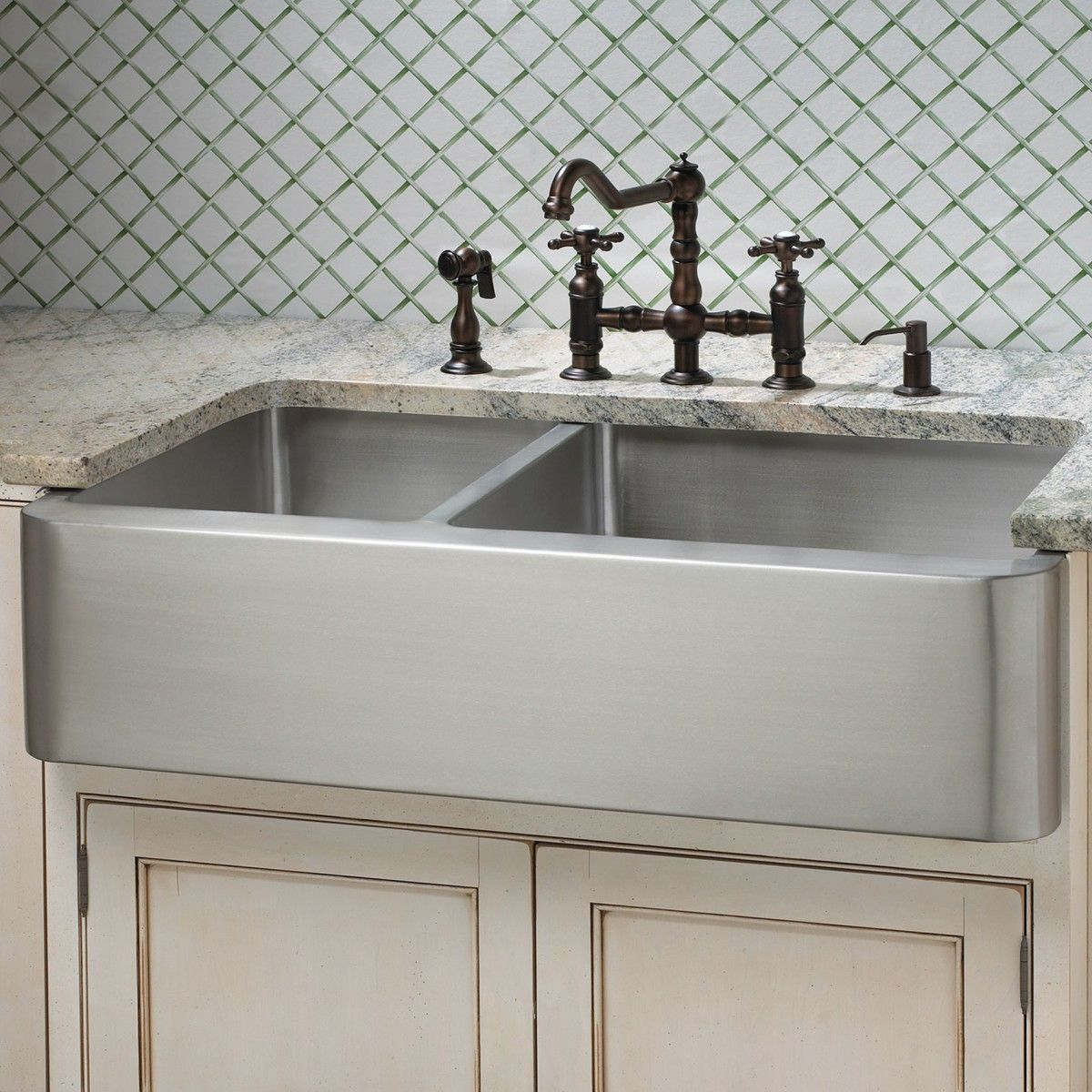 Farm sink for kitchens home depot with double chrome kitchen plug farm sink for kitchens home depot with double chrome kitchen plug plumbing kit workwithnaturefo