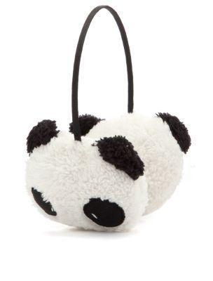 Teens Panda Ear Muffs - New Look