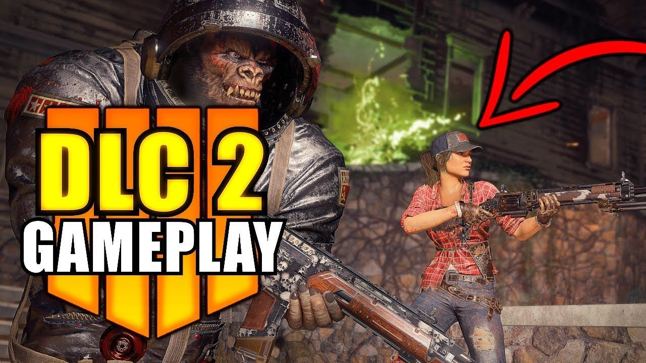 Blackout Bo4 Dlc 2 Buried Gameplay New Bo4 Update 1 13 Treyarch L Call Of Duty Black Black Ops 4 Gameplay