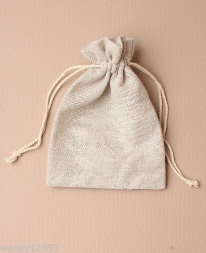 Download Pack Of 12 Natural Ivory Linen Drawstring Bag Pouch Gift Jewellery Wholesale Fabric Gift Bags Linen Bag Jewelry Bags