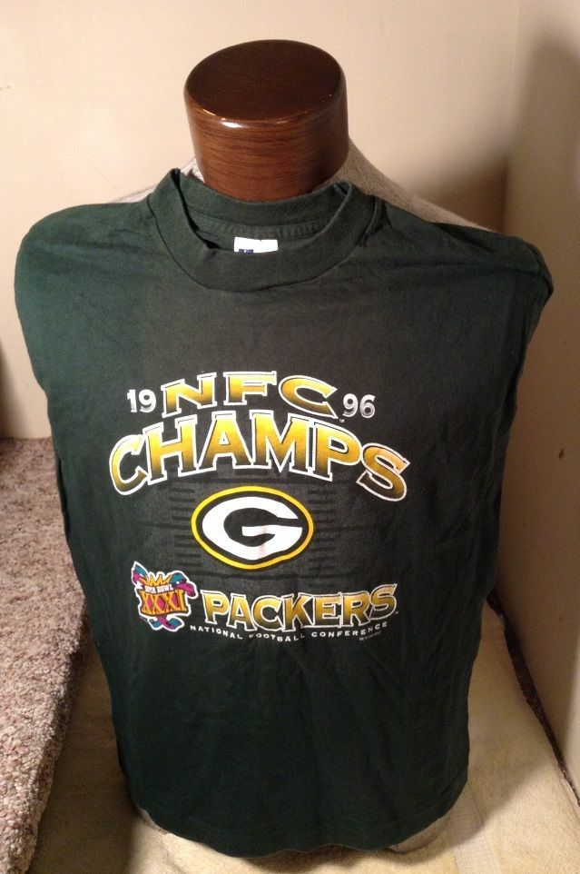 Minty Vintage Yl 1996 Green Bay Packers Nfc Champs Champions T Shirt 14 16 Artex Greenbaypackers Green Bay Packers Clothing Green Bay Packers Nfl Outfits