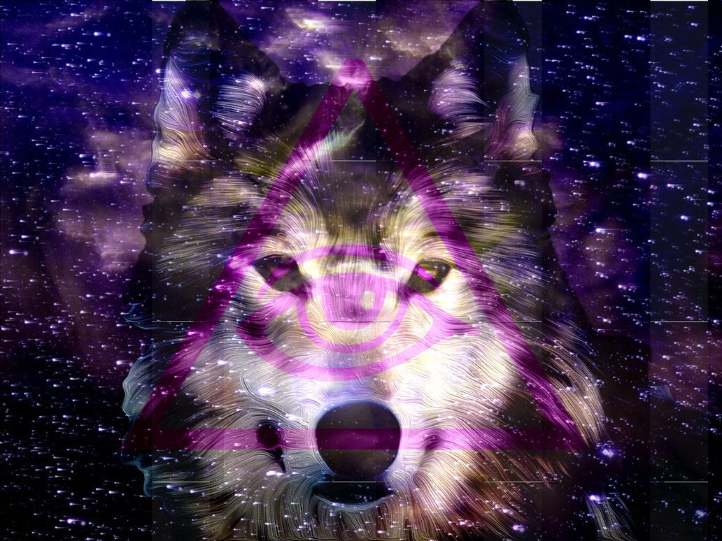 картинки хипстер с волками