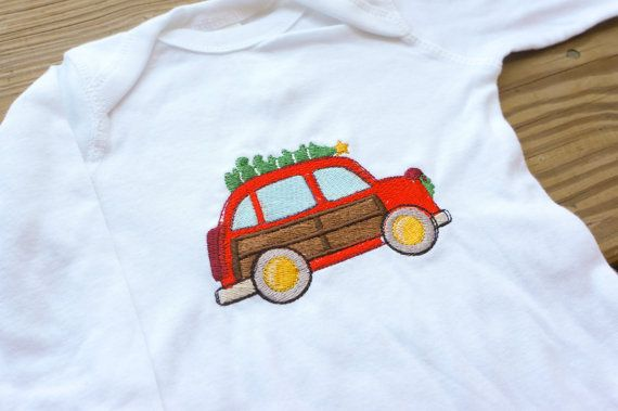 Hey, I found this really awesome Etsy listing at https://www.etsy.com/listing/474553558/old-fashion-wagon-embroidered-christmas
