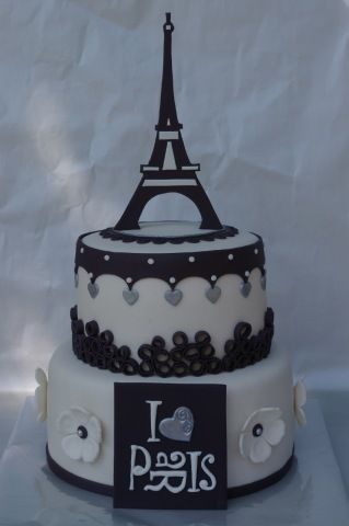 beautiful paris cake