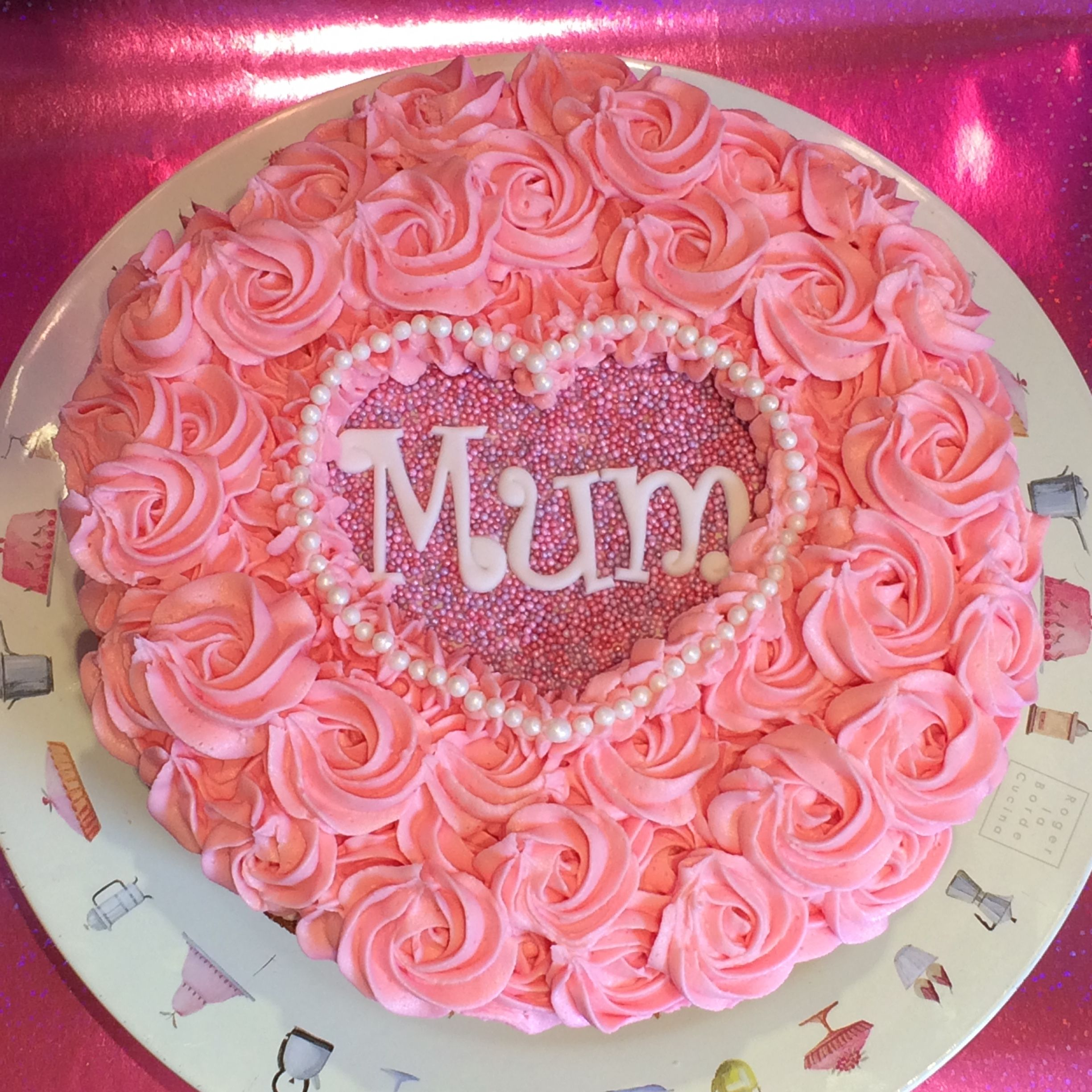 Simple Mother S Day Cake Idea Mothers Day Cake Cake Makers Cake