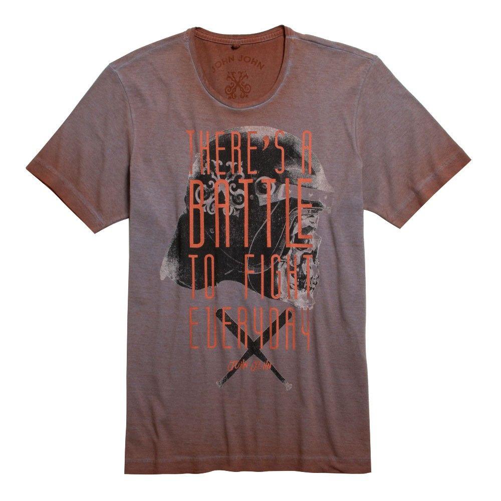 T-SHIRT BATTLES JOHN JOHN DENIM | SHOP ONLINE | Compre a nova coleção pelo site oficial.