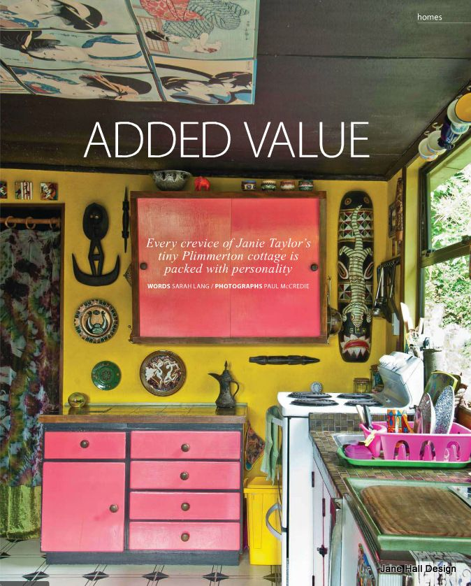 Bohemian Style Kitchen Featured In New Zealand Home And Garden.