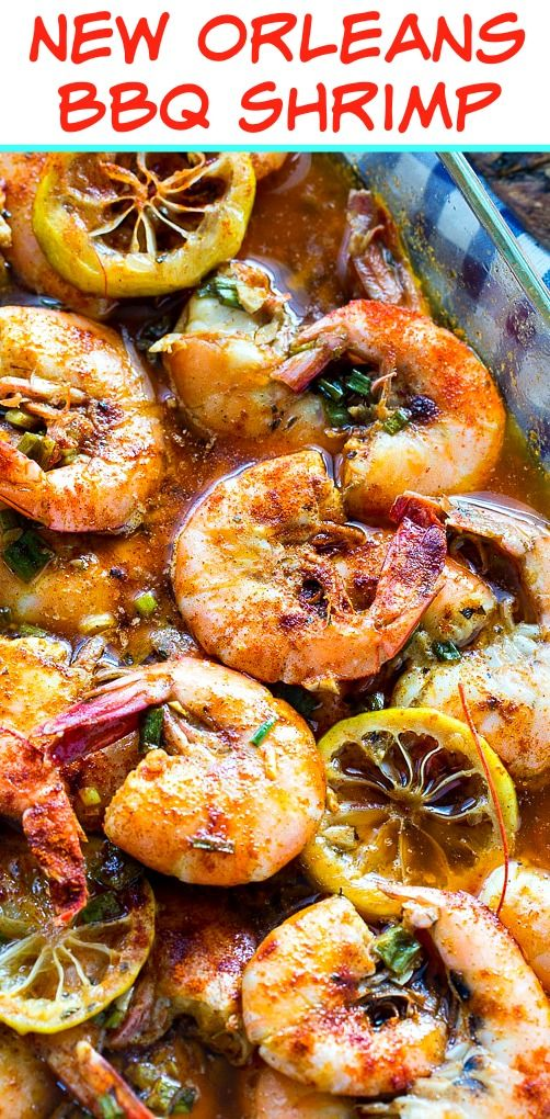 New Orleans-Style BBQ Shrimp #bbq