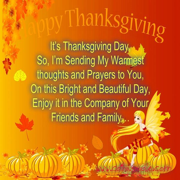 Happy Thanksgiving Quotes, Wishes and Thanksgiving