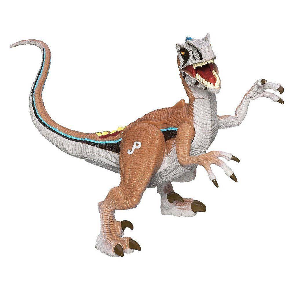 "Jurassic Park Dino Growlers Velociraptor Figure. Jurassic Park Dino Growlers Velociraptor Figure. Dino Growlers. Battle Howl & Dino Damage Roar. Stands"" 5.50"" Tall."