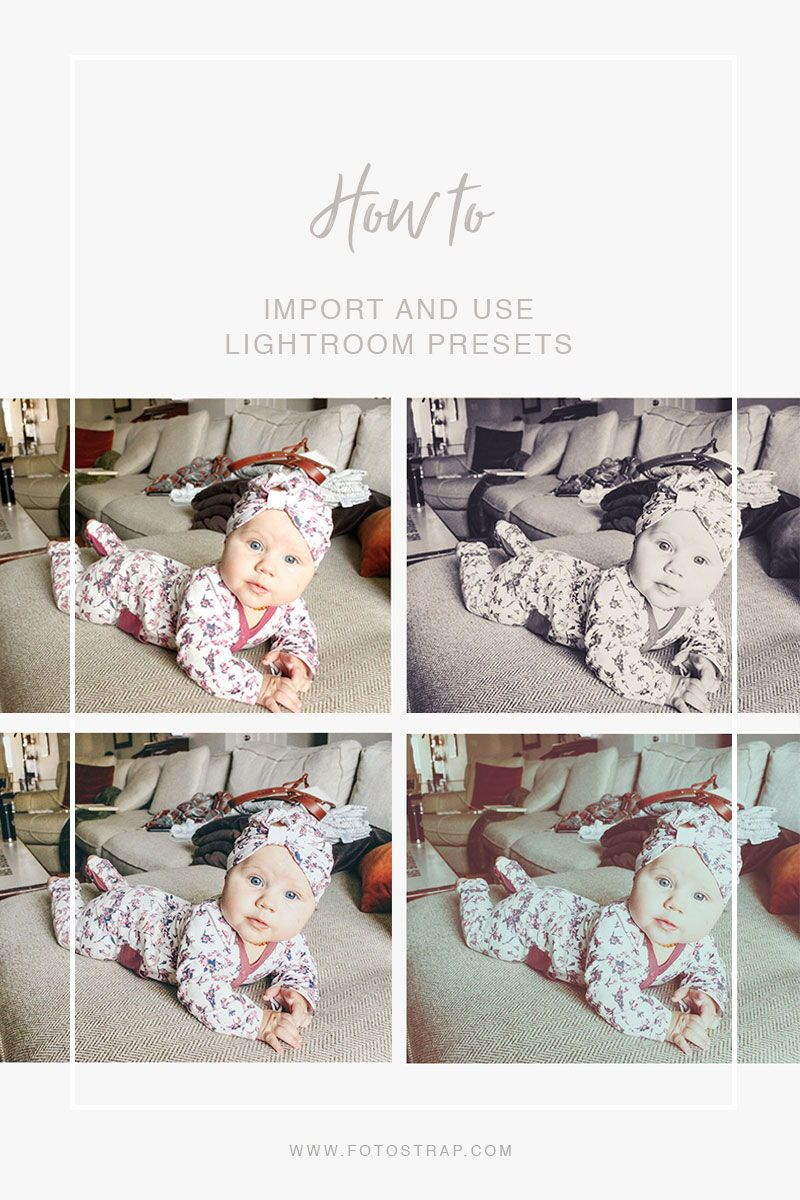 How to Import and Use Lightroom Presets Lightroom