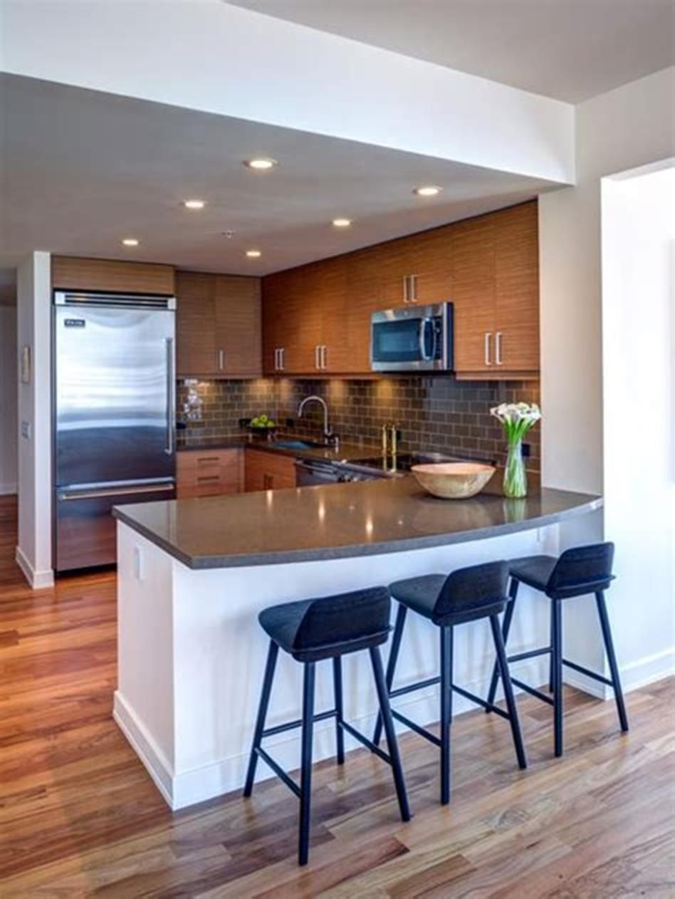 50+ Amazing Modern Kitchen Design Ideas for Small Spaces ...