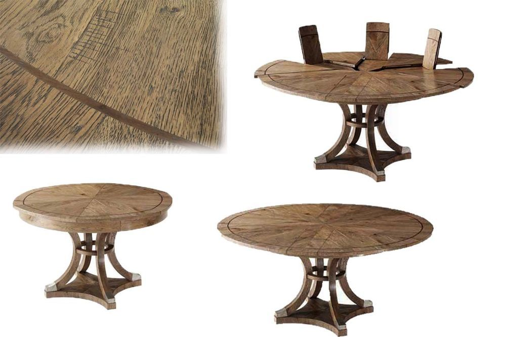 Details About New Theodore Alexander Round Expanding Jupe Table