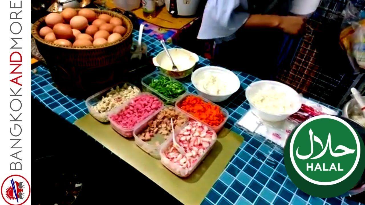 Halal Food Stalls And Restaurants In Bangkok Petchaburi Road Soi 7 Halal Recipes Food Stall Food