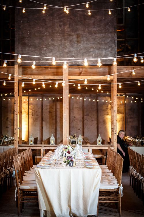 A Colorful, Shabby-Chic Wedding in Upstate New York | Barn ...