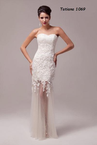 Jednoduché svadobné šaty na malú svadbu - - Svado...  9e8d2d1e24d
