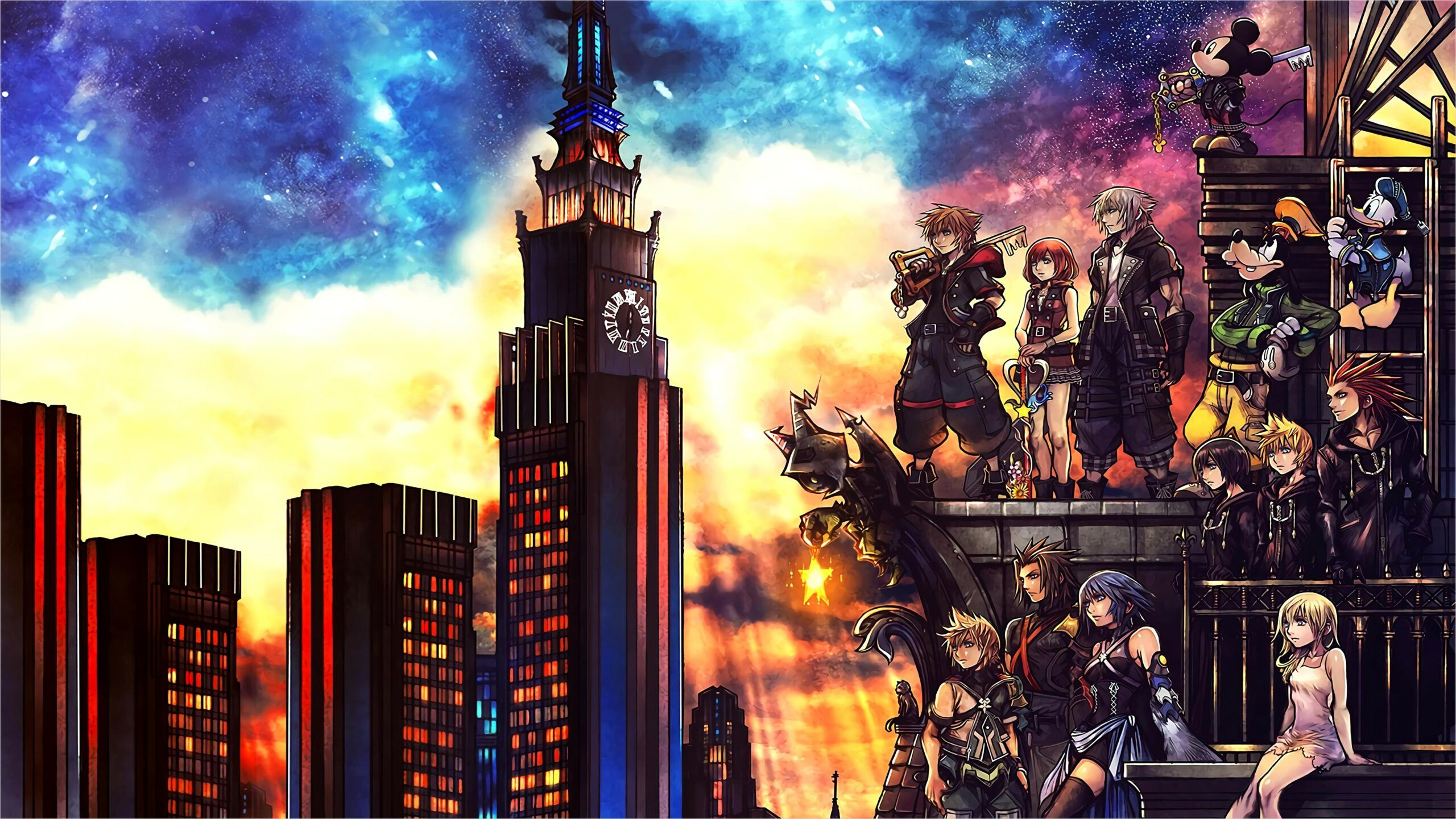 4k Wallpaper Kingdom Hearts In 2020 Kingdom Hearts Kingdom Hearts 3 Kingdom