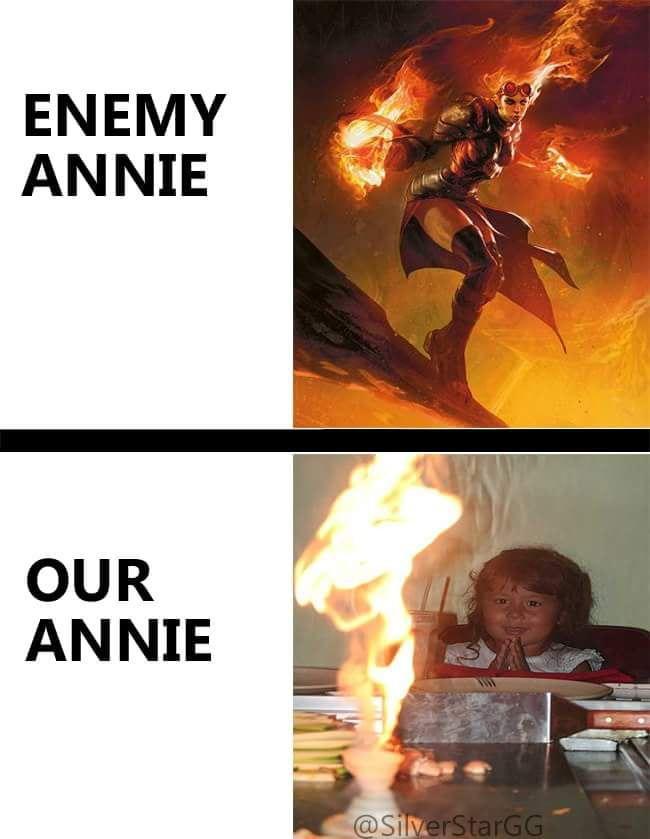 ANNIE! PLS DO SOMETHING   Lol league of legends, League ...