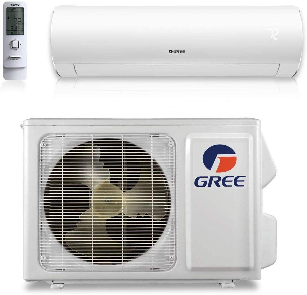 12 000 Btu 30 5 Seer Sapphire Wall Mount Ductless Mini Split Air Conditioner Heat Pump 208 230v In 2020 Ductless Mini Split Ductless Heat Pump