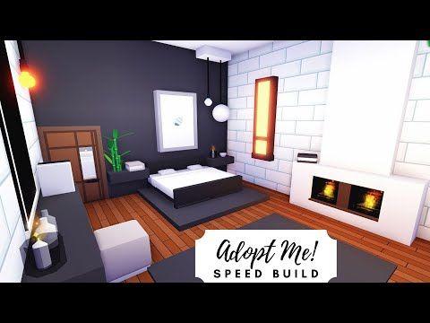Modern Futuristic Home Speed Build Part 3 Roblox Adopt Me Youtube Futuristic Home My Home Design Home Roblox