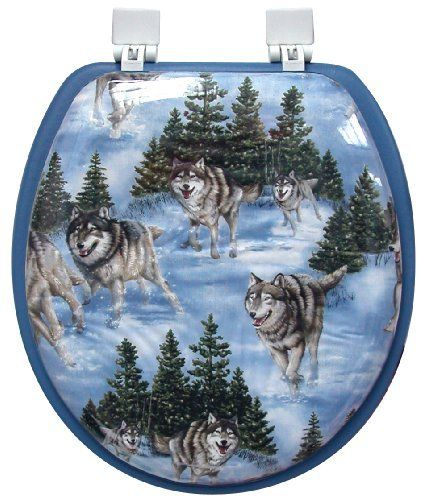 Soft Touch Toilet Seat. Image detail for  Wolves Soft Toilet Seat Wolf Animal Print Ginsey http www amazon com dp