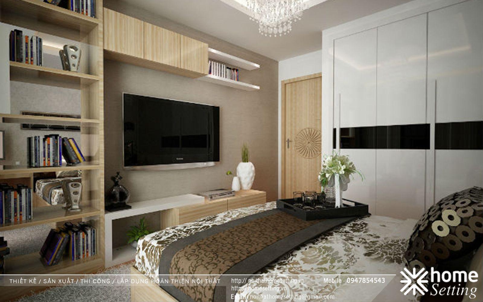Thiết kế nội thất chung cư Ecolife Capitol tòa tháp A1 căn 01