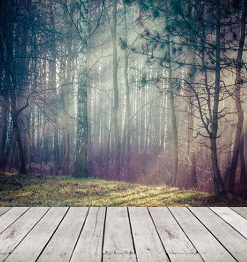 Peel And Stick Wall Paper Boho Misty Forest Wallpaper Wall Etsy In 2021 Wall Wallpaper Forest Wall Mural Forest Mural