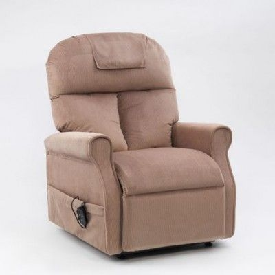 Restwell Boston Rise and Recline chair Mushroom | Chair