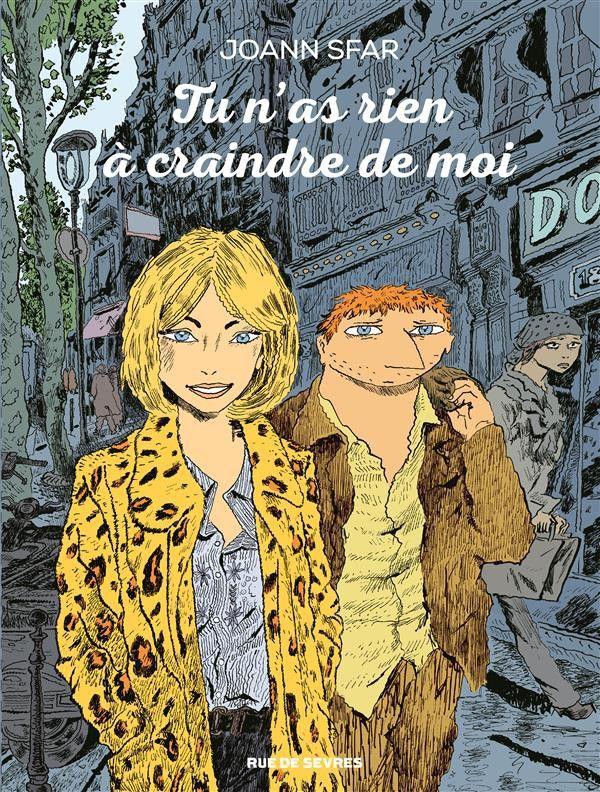 Tu n'as rien à craindre de moi | Une BD de Joann Sfar chez Rue De Sevres - 2016