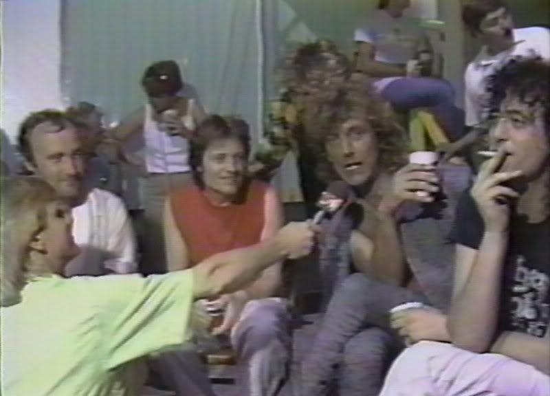 Live Aid Dnlok Led Zeppelin Zeppelin Robert Plant Led Zeppelin