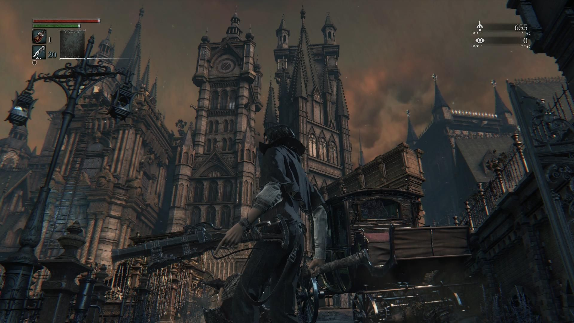 Bloodborne Review Ps4 Bloodborne Concept Architecture
