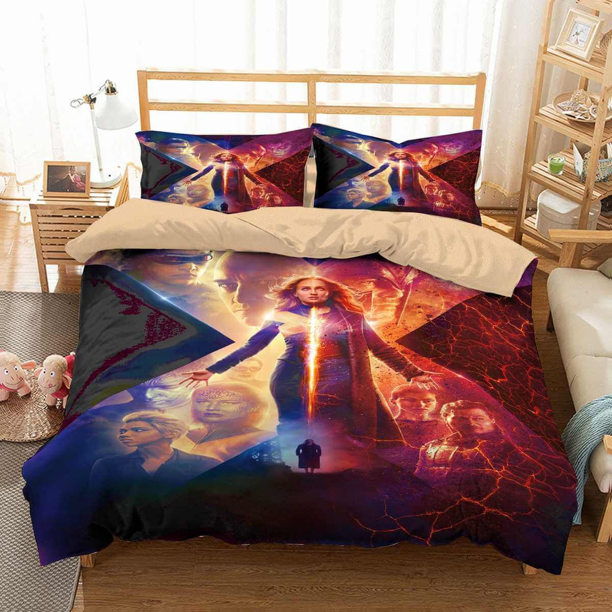 3D Customize X-Men Dark Phoenix Bedding Set Duvet Cover Set ...