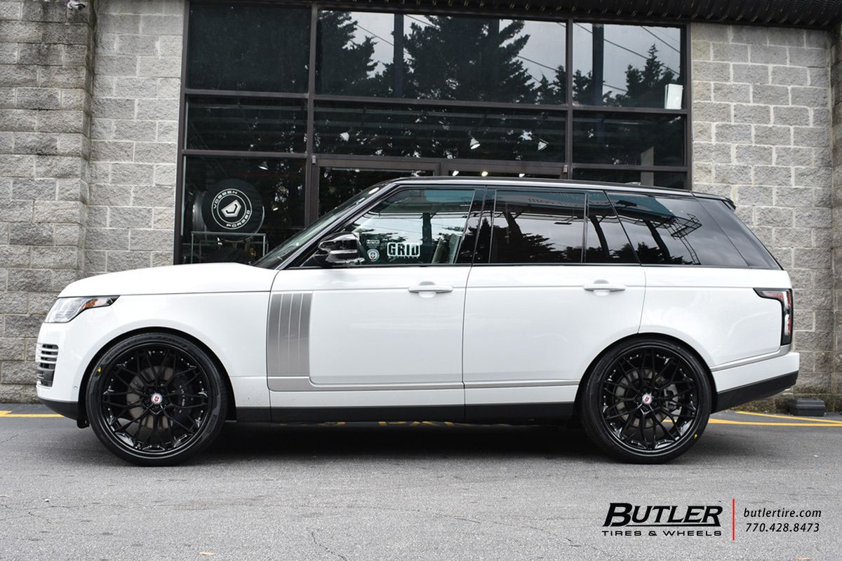Land Rover Range Rover With 24in Hre S200 Wheels Land Rover