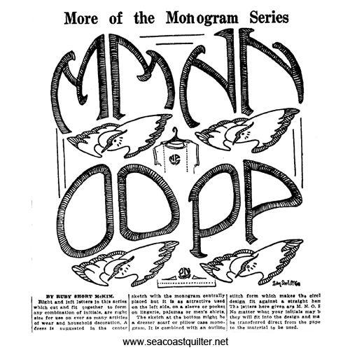 seacoast quilter art deco monogram m p art deco monogram monogram art deco pinterest