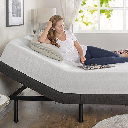 Smart Adjustable Bed Frame Platform Twin Base Size Bedroom Furniture ...