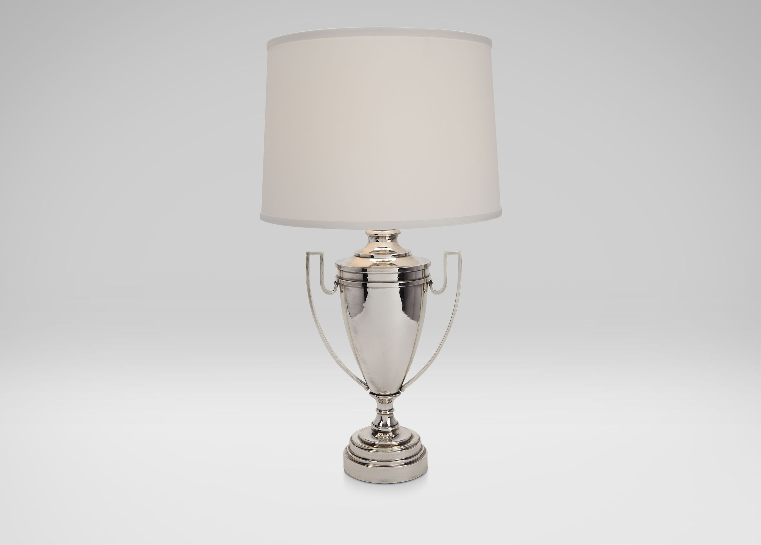 Huntsman Silver Trophy Lamp