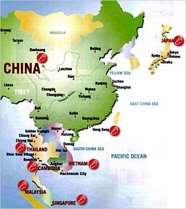 Map hong kong japan china hong kong japan thailand vietnam map hong kong japan china hong kong japan thailand vietnam cambodia laos myanmar we sciox Choice Image