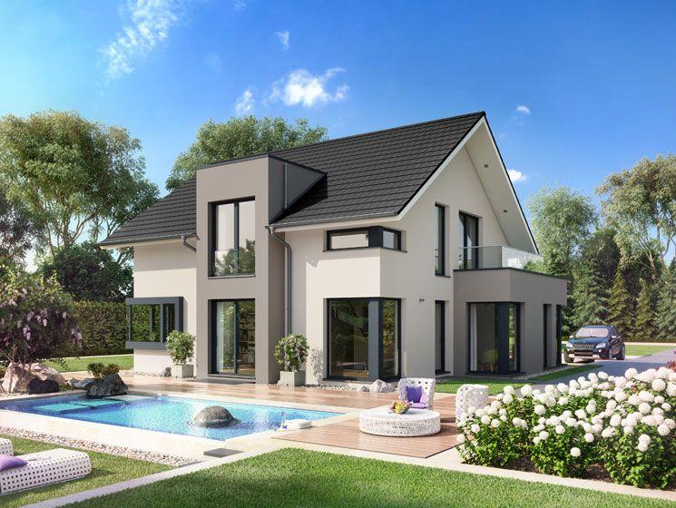 Unser CONCEPT-M 159 Musterhaus Bad Vilbel #Haus #Fertighaus ...