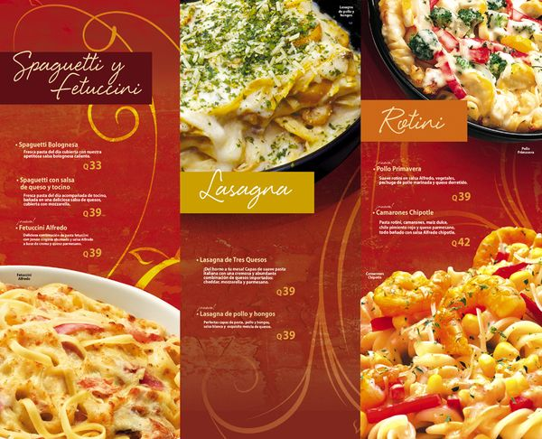 Pizza hut menus by cecilia sagastume via behance for Menu comida