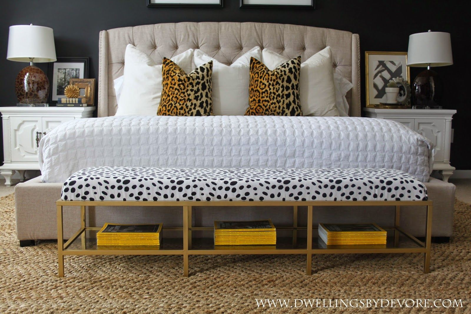 One Of My Favorite Elements From Our Master Bedroom Room Makeover Is This Bench I Wanted Something With A Met Furniture Hacks Ikea Hack Bedroom Bedroom Diy