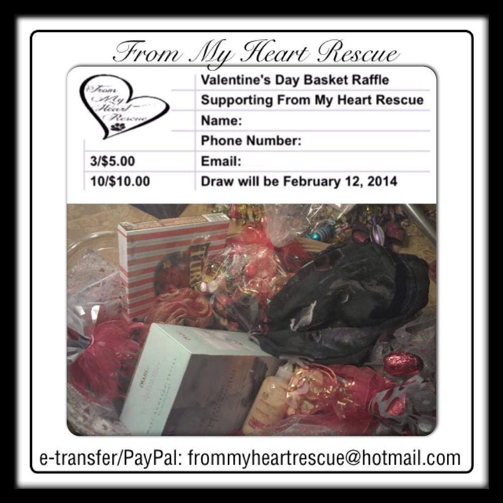 valentine's day raffle ideas
