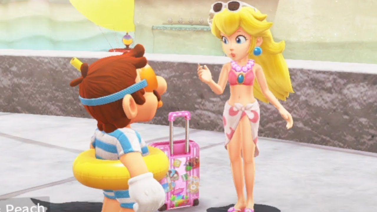 Super Mario Odyssey All Princess Peach Locations Youtube