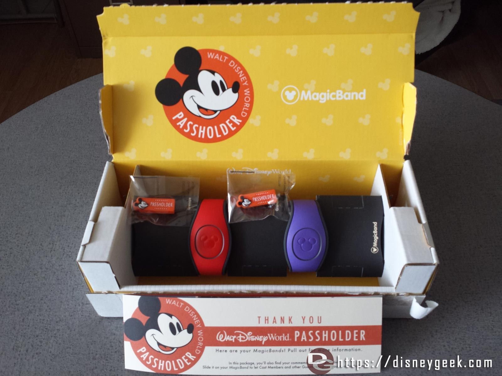Mail Call - Annual Passholder MagicBand 2.0 & Previous Years Containers