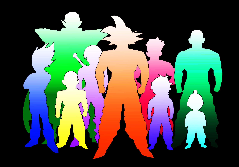 Dragon Ball Z Silhouettes Wallpaper 2664x1860 Id 28810 Idees