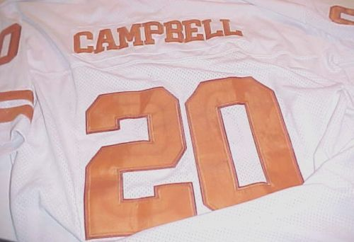brand new 10cb5 977a0 italy mens texas longhorns 20 earl campbell burnt orange ...